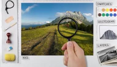 ICAD证书-Photoshop转手绘